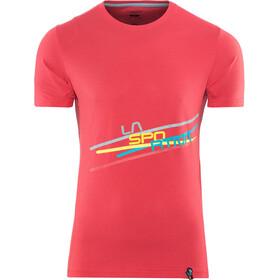 La Sportiva M's Stripe 2.0 T-Shirt Cardinal Red